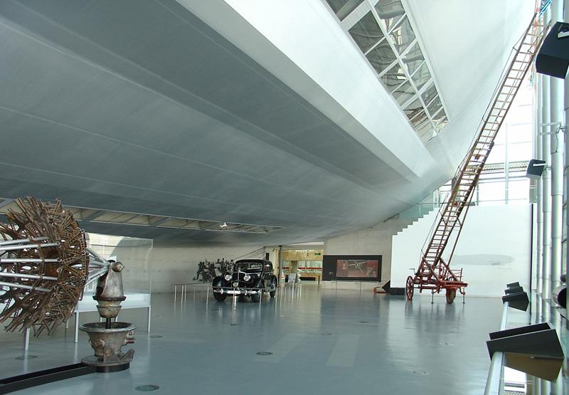 Zeppelin-Halle, © Zeppelin-Museum Friedrichshafen
